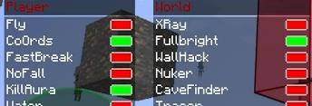 MultiHack NOVACLIENT для MineCraft