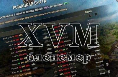 Оленемер | XVM