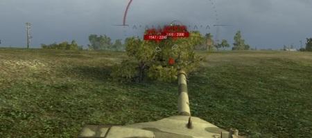 силуэт танка