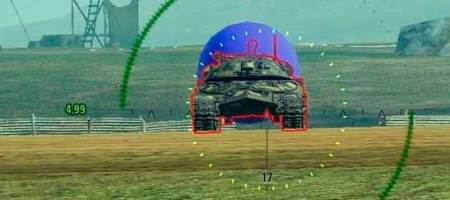 3D шар после попадания в WoT