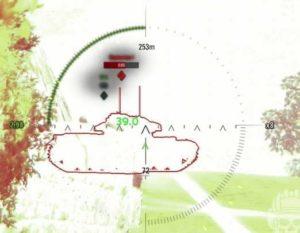 индикатор бронепробития