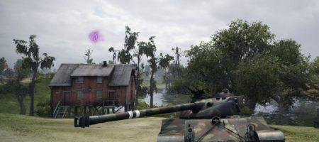 Одноцветный указатель направления врагов в простреле
