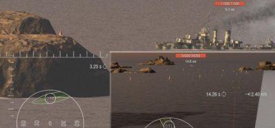 Угломер для World of Warships